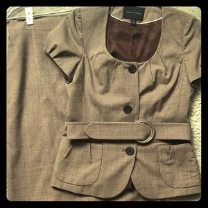 Banana Republic Suit - Skirt and Belted Top